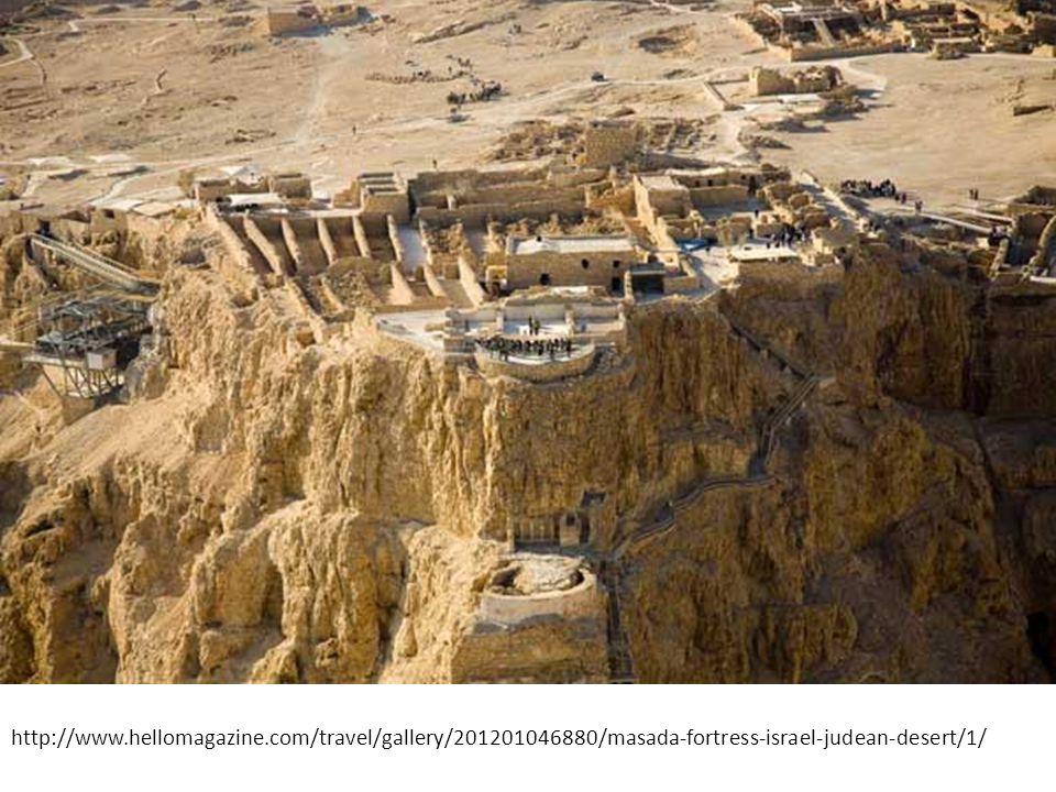 Masada, Desert Fortress http://www.hellomagazine.com/travel/gallery/201201046880/masada-fortress-israel-judean-desert/1/