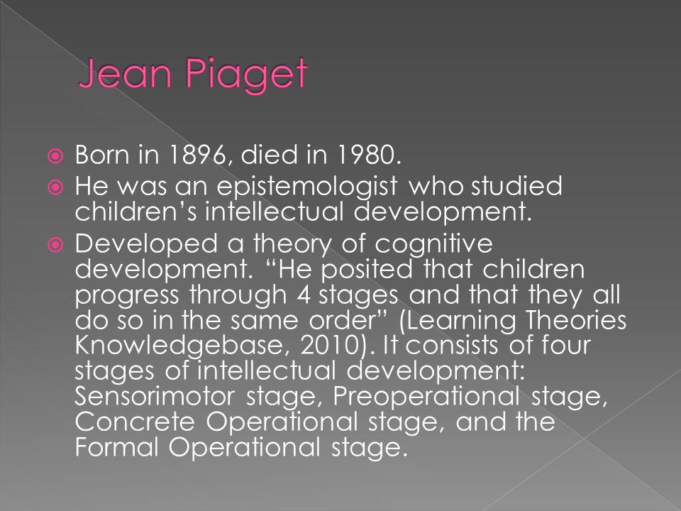  Kagan, J.(2008). In Defense of Qualitative Changes in Development.