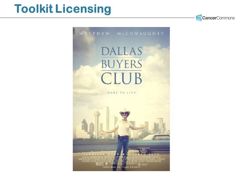 Toolkit Licensing