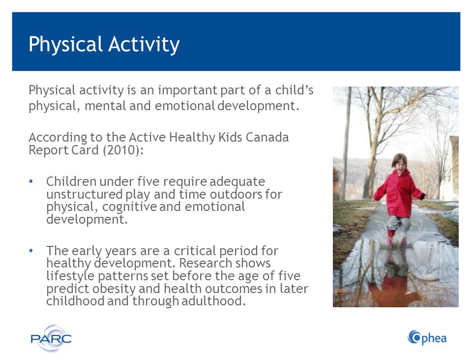 Resources Developing Policy to Advance Physical Literacy in Child Care Settings in Alberta.