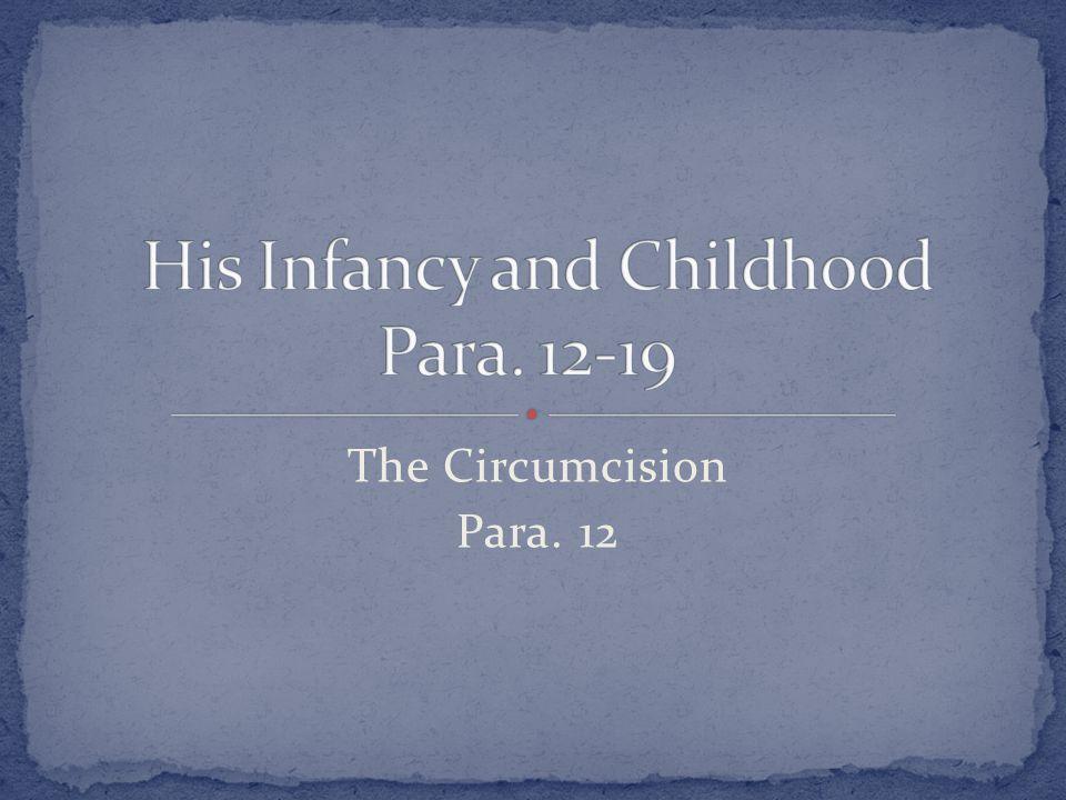 The Circumcision Para. 12