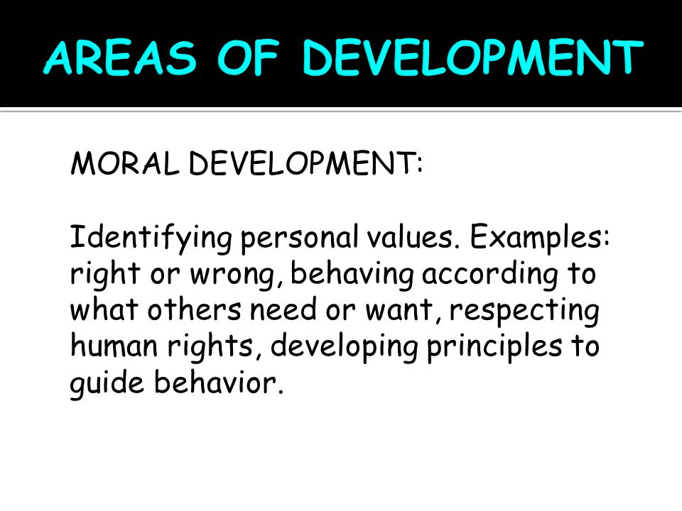 COGNITIVE DEVELOPMENT: The ability of the brain or mind to take in and process information.