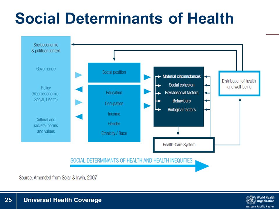 25Universal Health Coverage Social Determinants of Health
