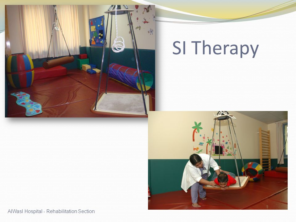 SI Therapy AlWasl Hospital - Rehabilitation Section