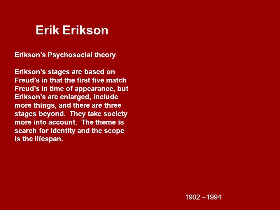 Erik Erikson 8 life Stages of Psycho-social Development StagePeriod 1.