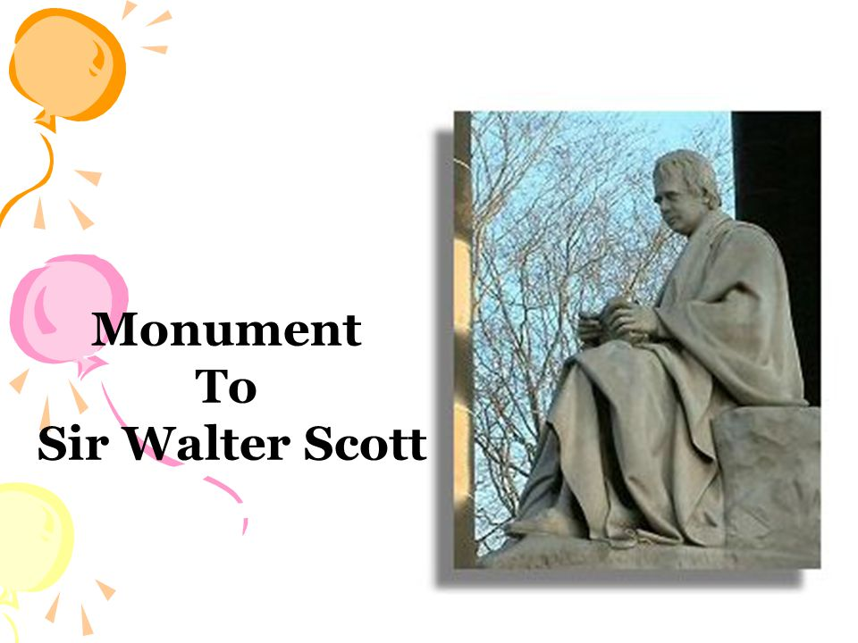 Monument To Sir Walter Scott