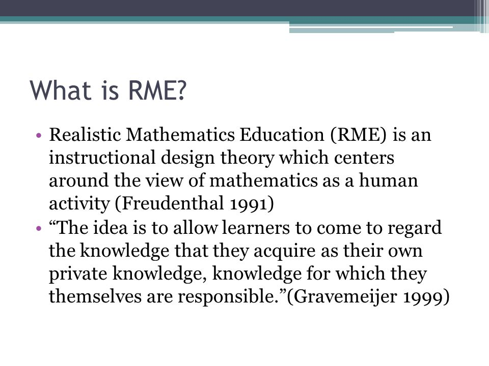 What is RME.