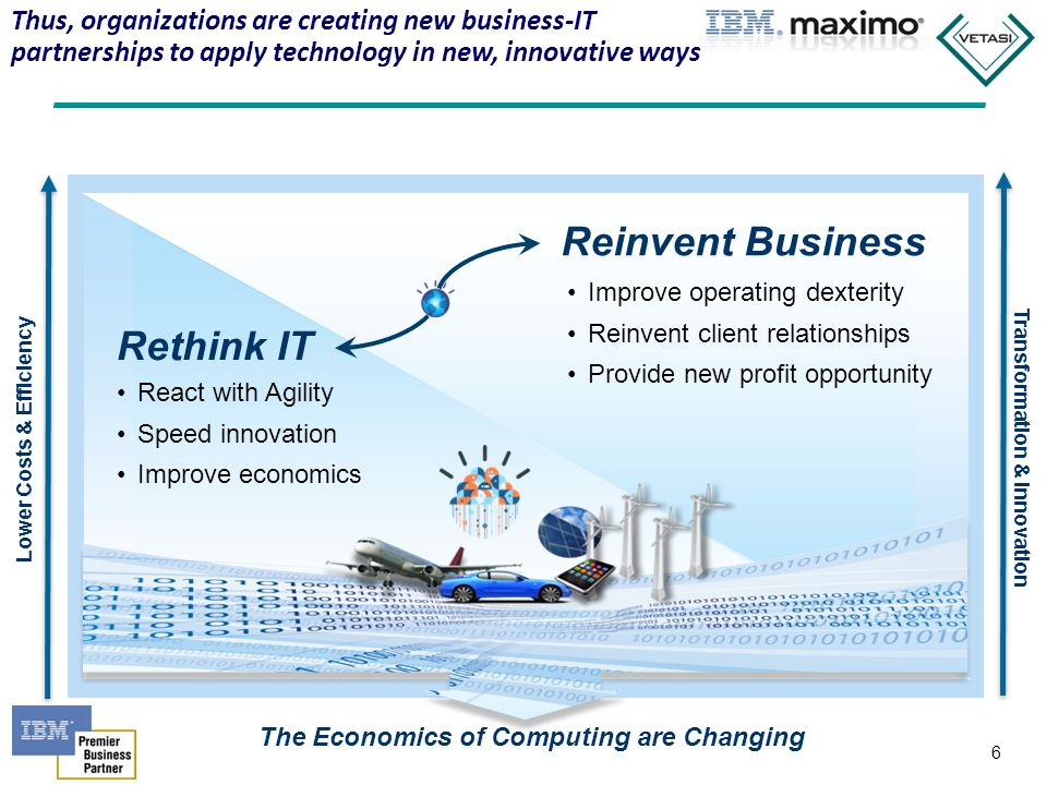 7 IBM is helping organizations embrace bold strategies to Rethink IT, and Reinvent Business services, processes, & relationships… 7 Speeding service delivery from 45 days to 20 minutes Recognizing & repairing over 50% of issues before operations impact Increasing sales with new promotions from 15% to 75% Reducing the time it takes to backup critical data by 80% Optimize with Cloud Deploy Smarter Physical Infrastructures Extend to Mobile Devices Protect & Manage Data