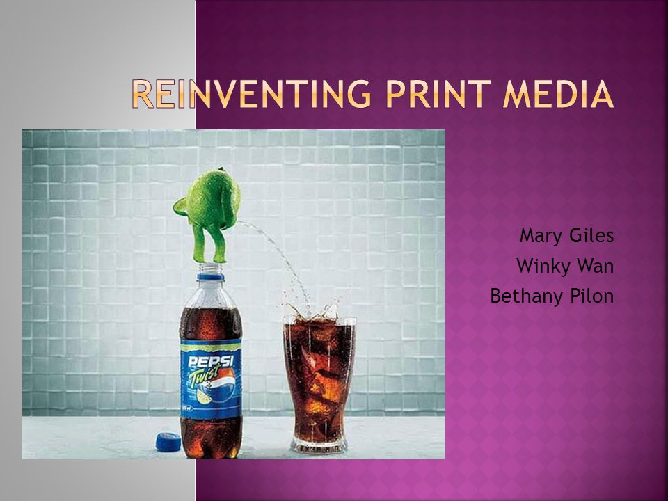  Print Media has taken a severe downfall in advertising businesses  Revenue has declined faster than any other ad- supported media