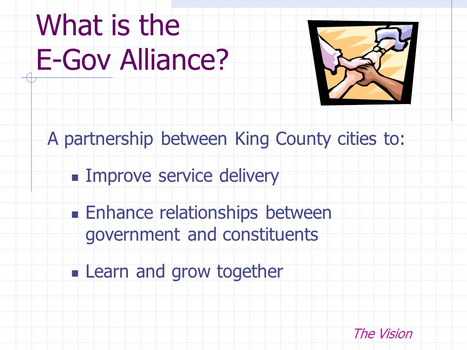 What is the E-Gov Alliance.