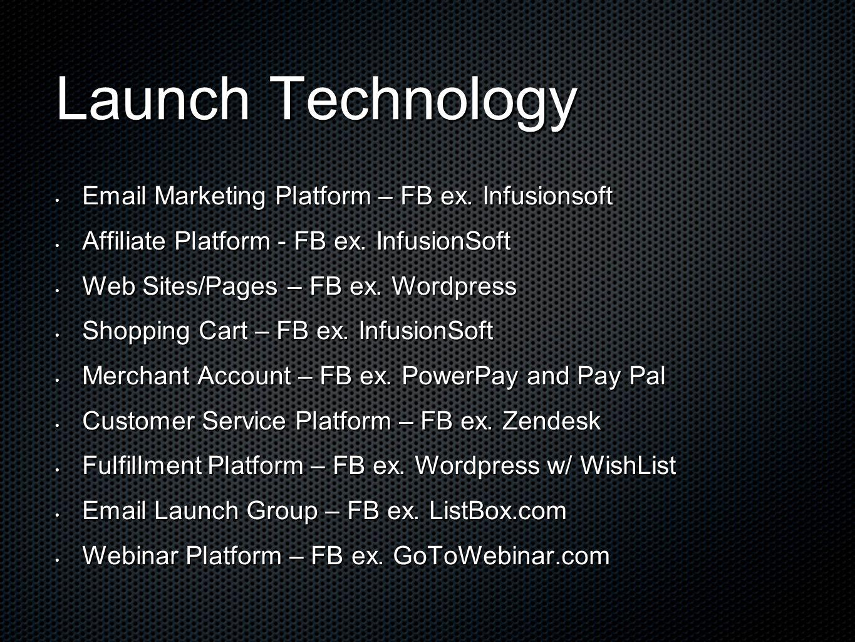 Email Marketing Platform – FB ex. Infusionsoft Email Marketing Platform – FB ex.
