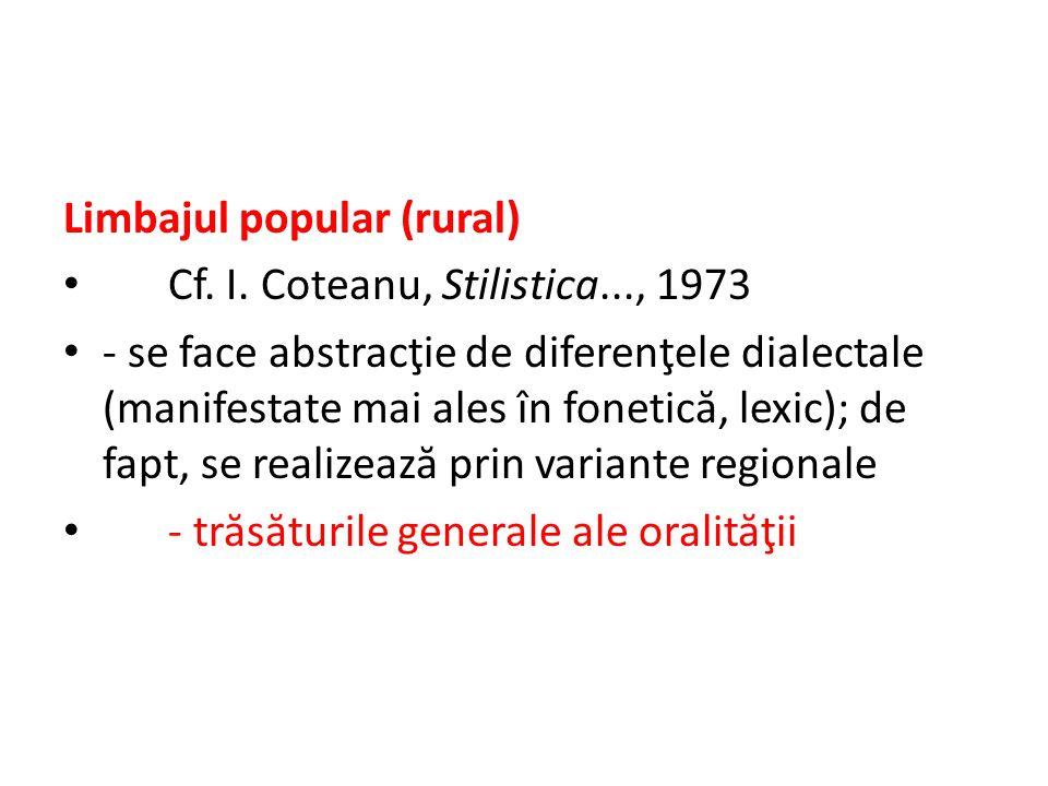 Tr ă s ă turi generale I.Vocabular 1.