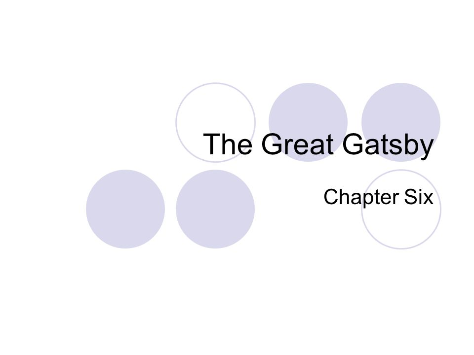 Learning Intentions Think about Gatsby's transformation and what it tells you about his dreams Understand the importance of the 'Sloane' incident and how it conveys Gatsby's position Identify how Daisy feels about Gatsby's party and what this tells us about their relationship