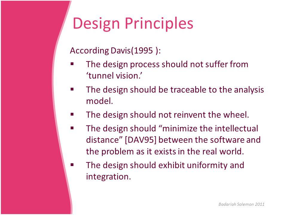 SDD: Examples Refer to http://www.cs.uofs.edu/~dmartin/exsesrm.htm#_To c514249734 http://www.cs.uofs.edu/~dmartin/exsesrm.htm#_To c514249734 Refer to SDDSample.doc Badariah Solemon 2011