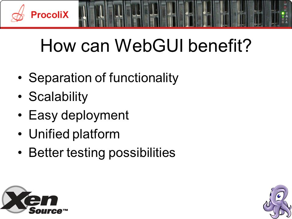 How can WebGUI benefit.