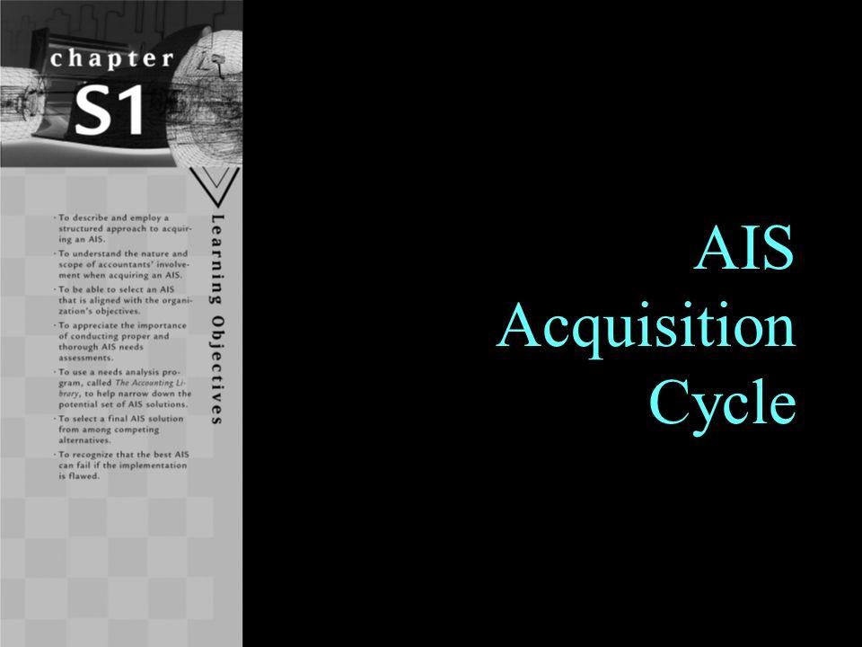 1 AIS Acquisition Cycle