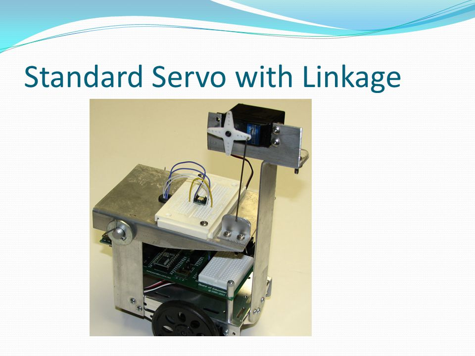 Standard Servo with Linkage