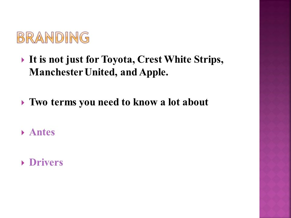  It is not just for Toyota, Crest White Strips, Manchester United, and Apple.
