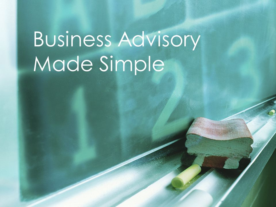 Page 15 Business Advisory Made Simple