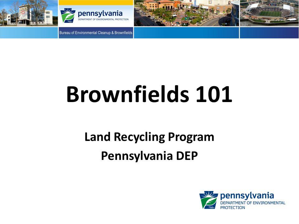 Thank you!! PA Land Recycling Program landrecycling@pa.gov