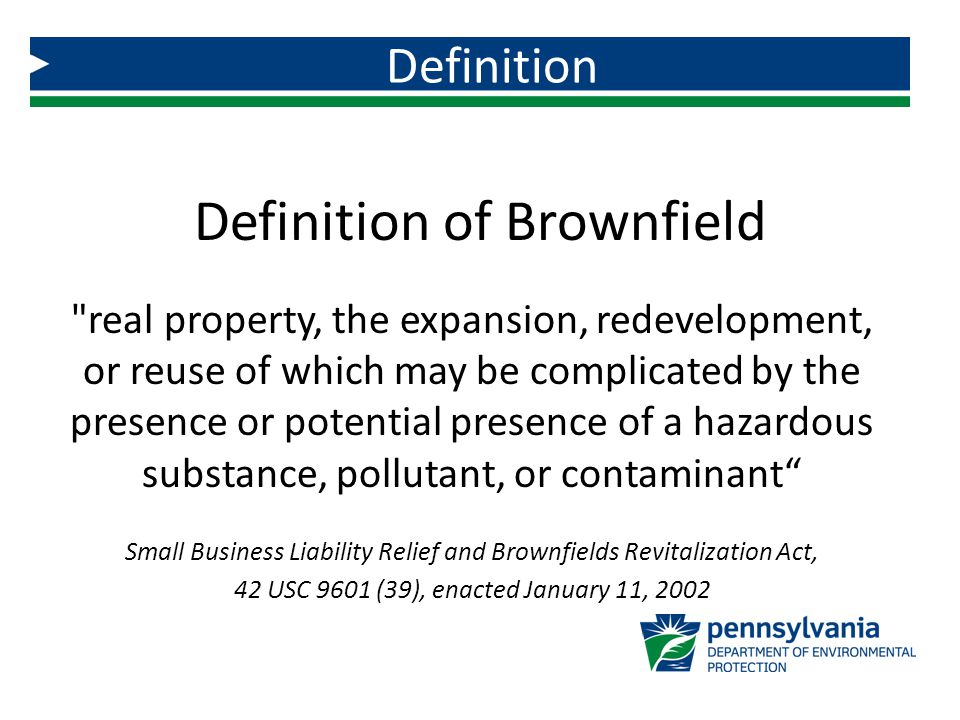Is this a Brownfield?