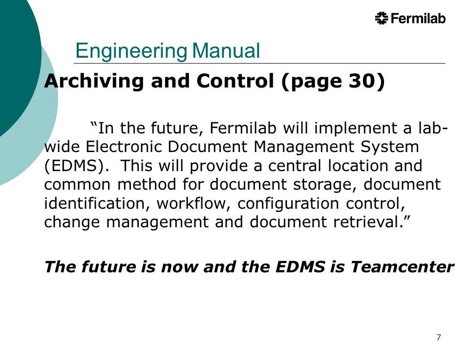 8 Engineering Process & Teamcenter Teamcenter - EDMP