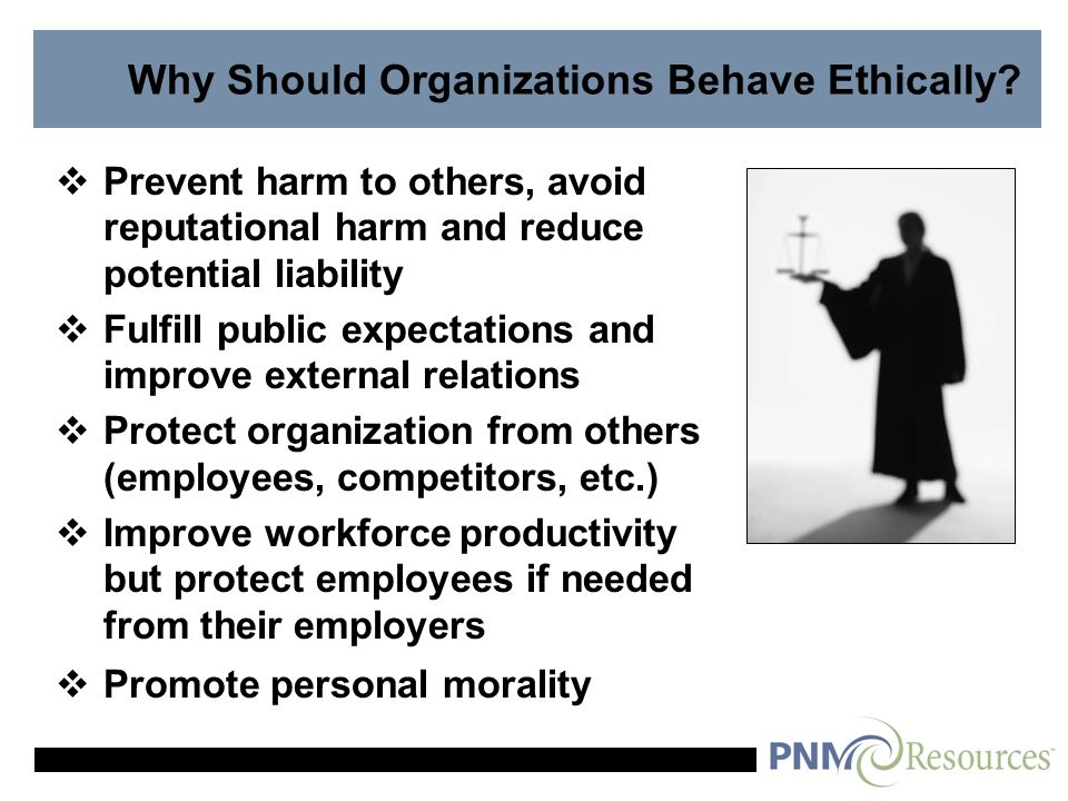 Reasons for Ethical Problems in Organizations  Personal Gain and Selfish Interest  Competitive Pressure on Finances  Organizational Goals vs.