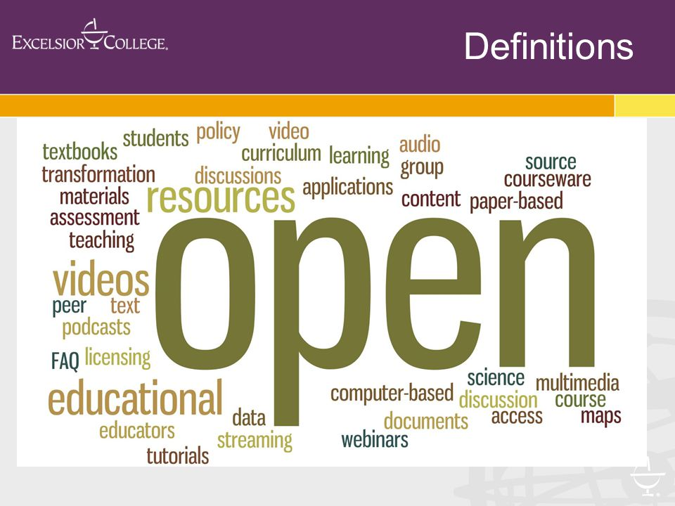 Use OER as part of a blended learning solution to integrate remediation  Biology (University of Miami)  Math (University of Wisconsin La Crosse)  Excelsior College - imbedded in online courses  B2S program Anne Arundal & UMUC Remediation