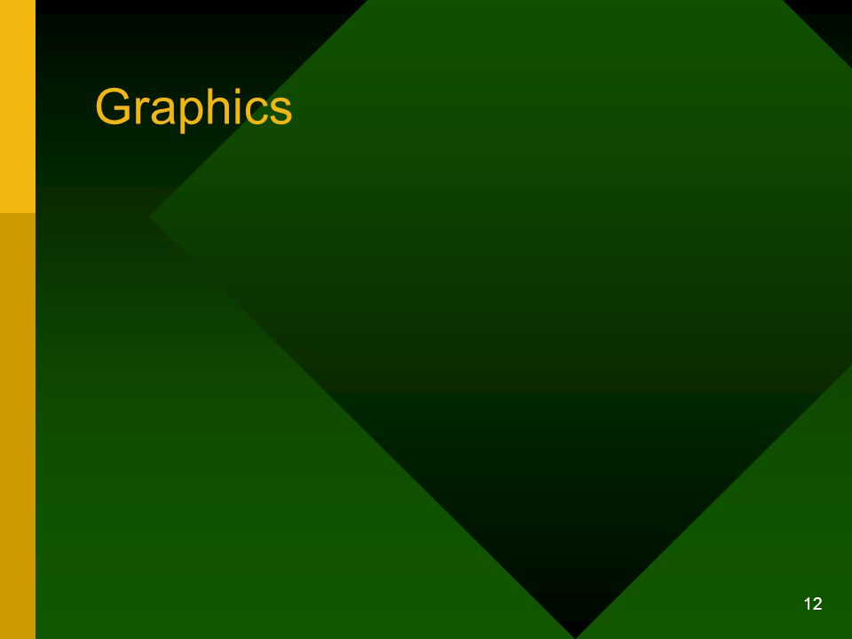 12 Graphics