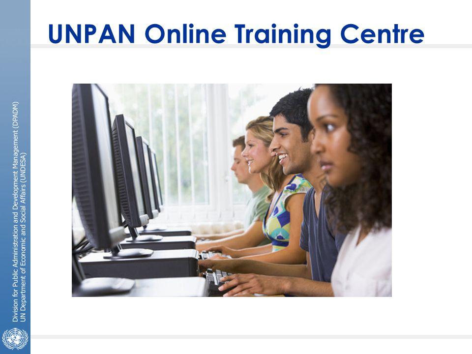UNPAN Online Training Centre