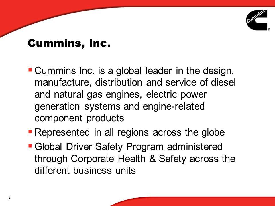 2 Cummins, Inc.  Cummins Inc.
