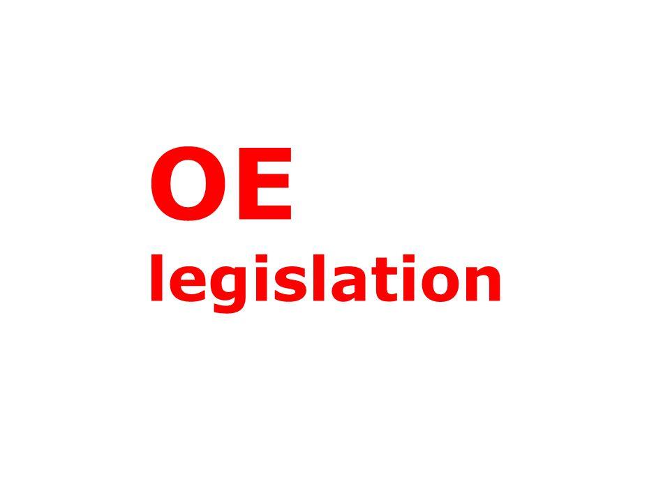 OE legislation