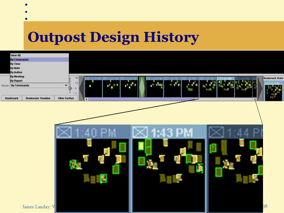 36 James Landay: Web Design Outpost Design History