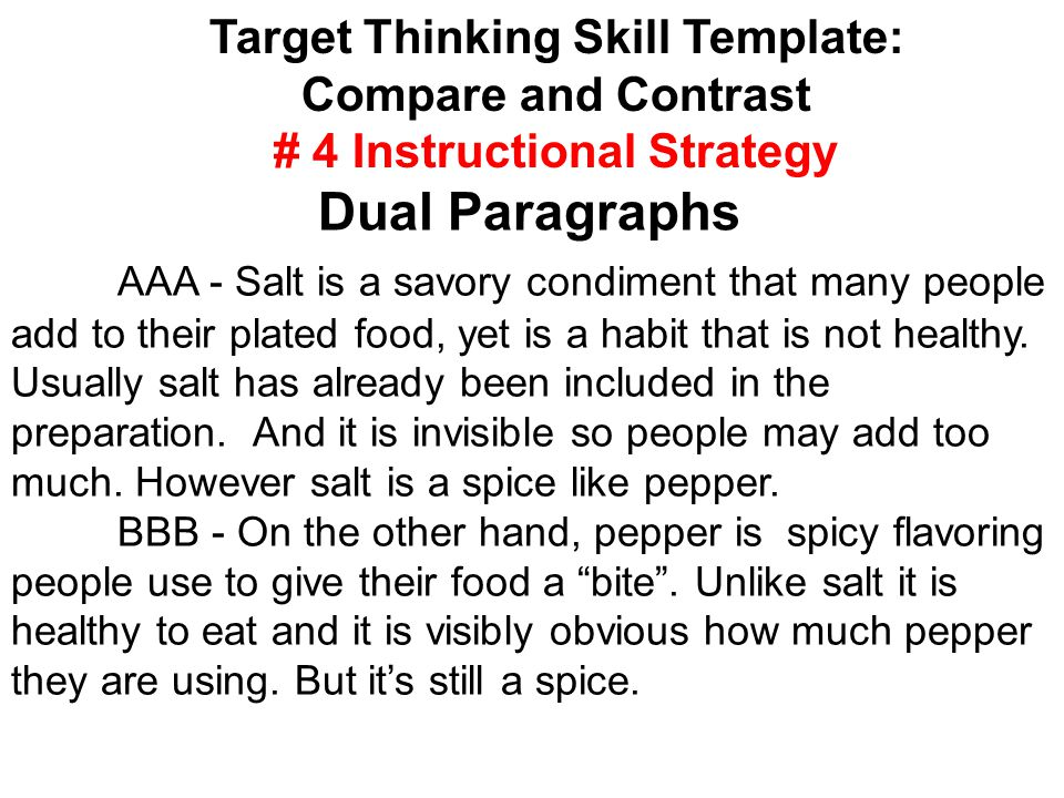 AAA - Salt is a savory condiment that many people add to their plated food, yet is a habit that is not healthy.