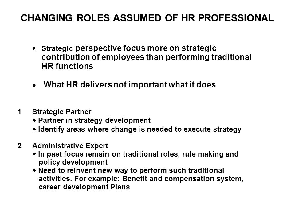 UNDERSTANDING HRM-PERFORMANCE LINKAGES Content –Set of practices adopted –Ideally driven by strategic goals & values –No single most appropriate set of practices for particular strategic objective –Different sets of practices