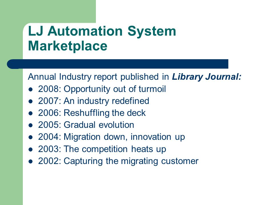 Is non-integrated automation sustainable.