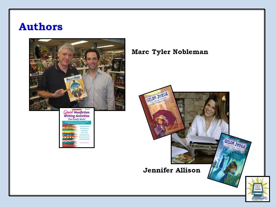Authors Jennifer Allison Marc Tyler Nobleman