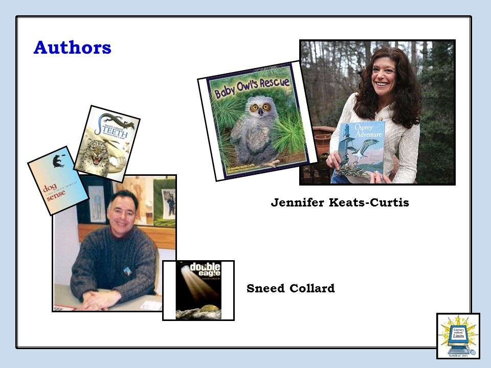 Authors Sneed Collard Jennifer Keats-Curtis