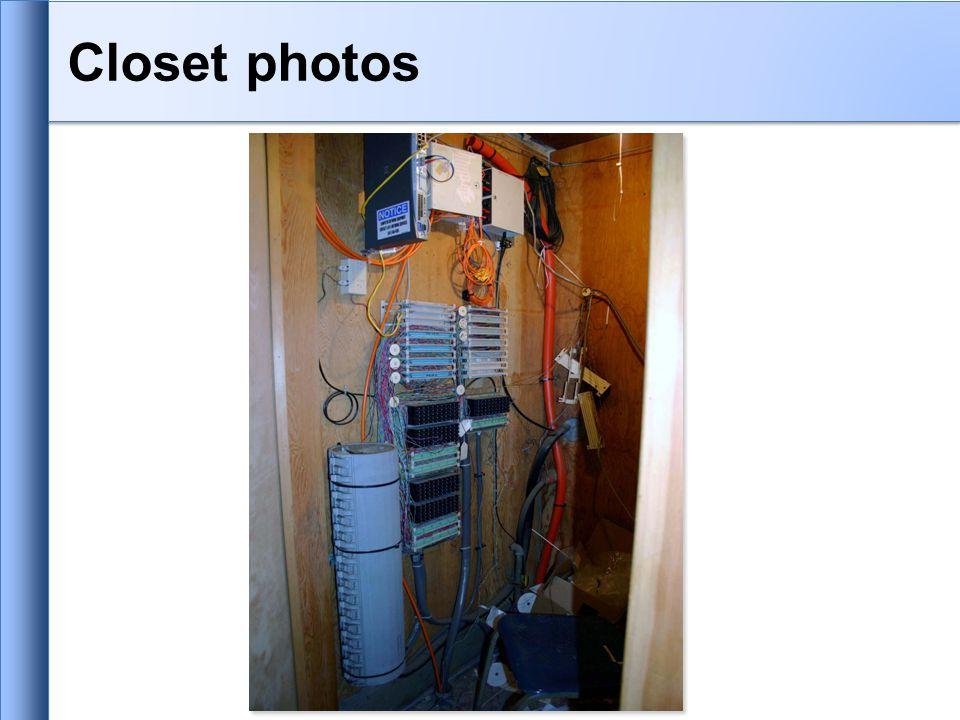 Closet photos