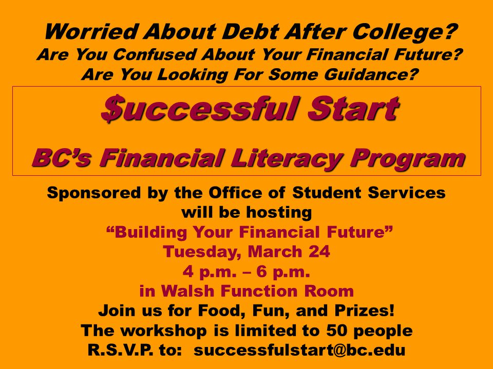 Worried About Debt After College. Are You Confused About Your Financial Future.