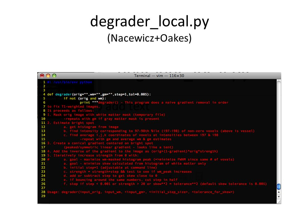 degrader_local.py (Nacewicz+Oakes)