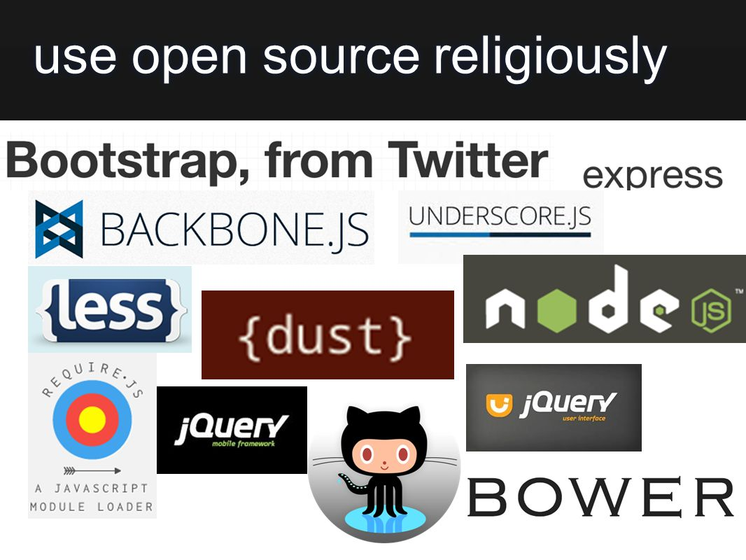 use open source religiously