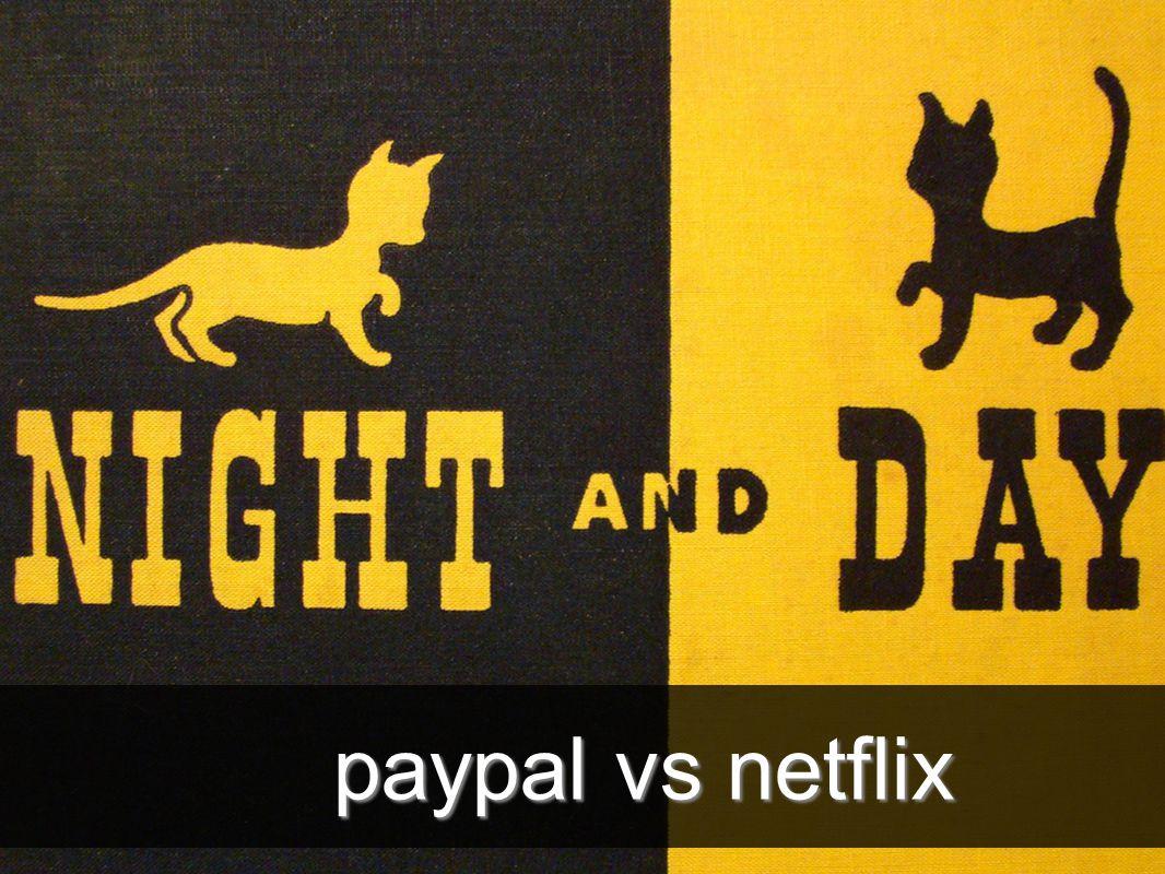 paypal vs netflix
