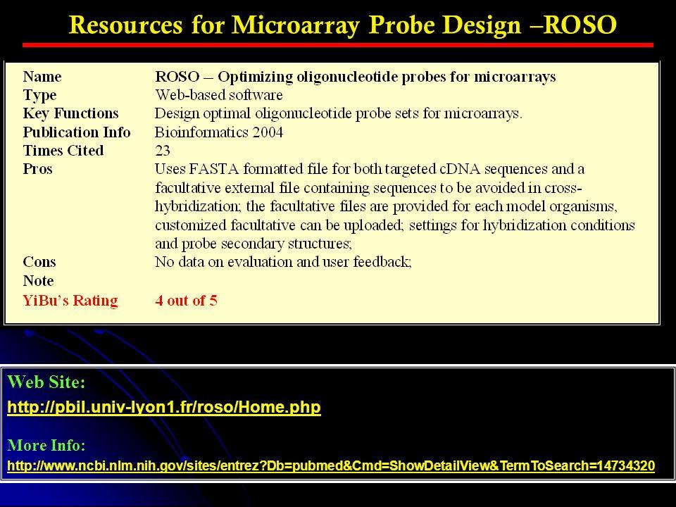 Web Site: http://pbil.univ-lyon1.fr/roso/Home.php More Info: http://www.ncbi.nlm.nih.gov/sites/entrez?Db=pubmed&Cmd=ShowDetailView&TermToSearch=147343