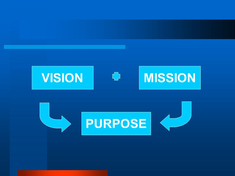 VISIONMISSION PURPOSE