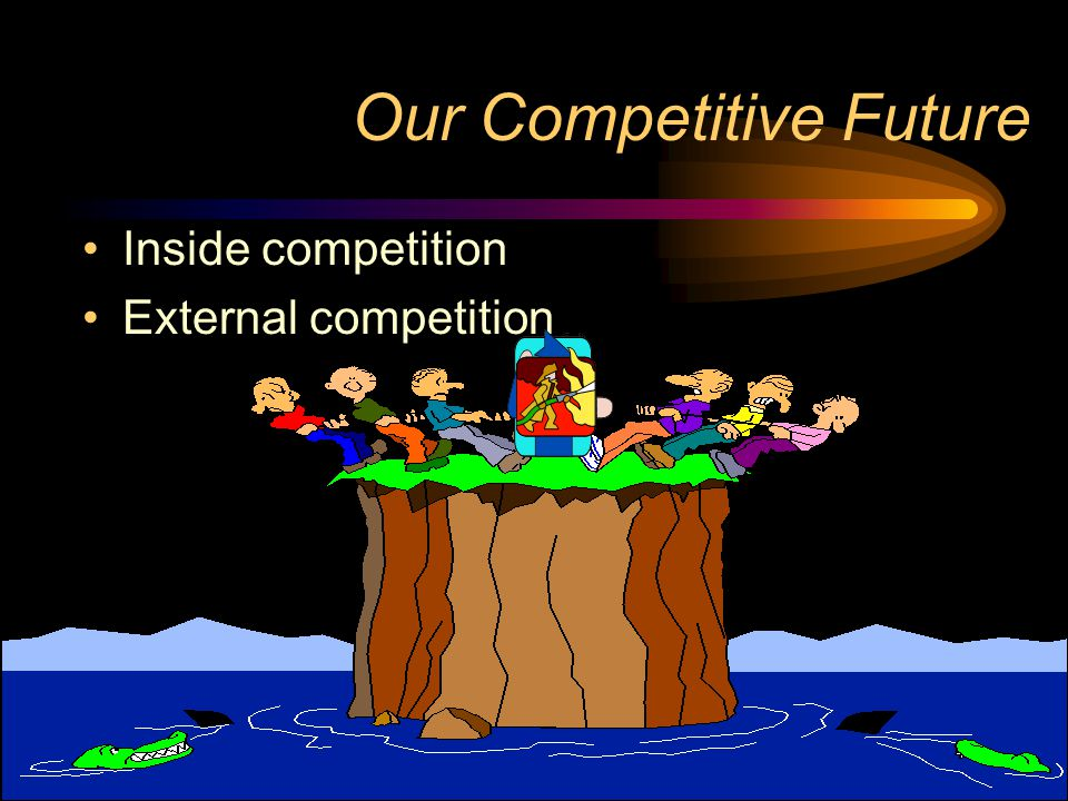 Our Competitive Future Inside competition External competition