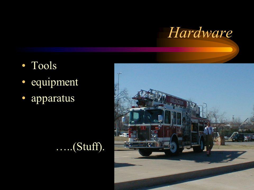 Hardware Tools equipment apparatus …..(Stuff).