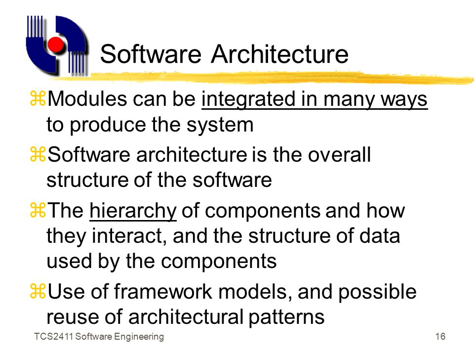 TCS2411 Software Engineering15 Divide And Conquer S1 S2 S3 S4 S5 P5 P4 P3 P2 P1
