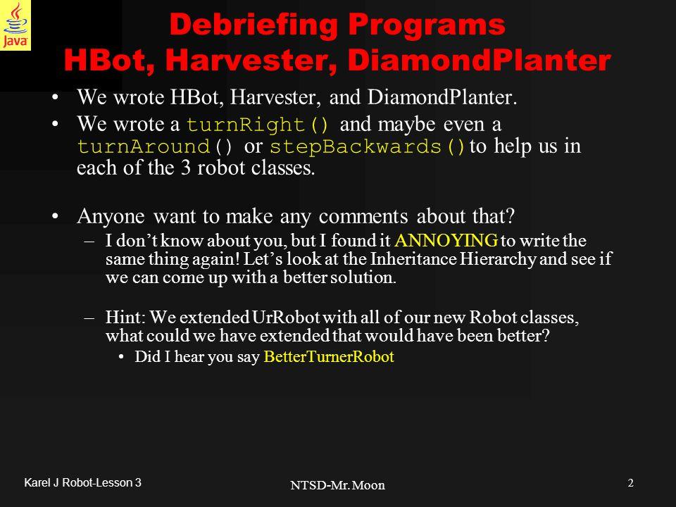 2 Karel J Robot-Lesson 3 NTSD-Mr.