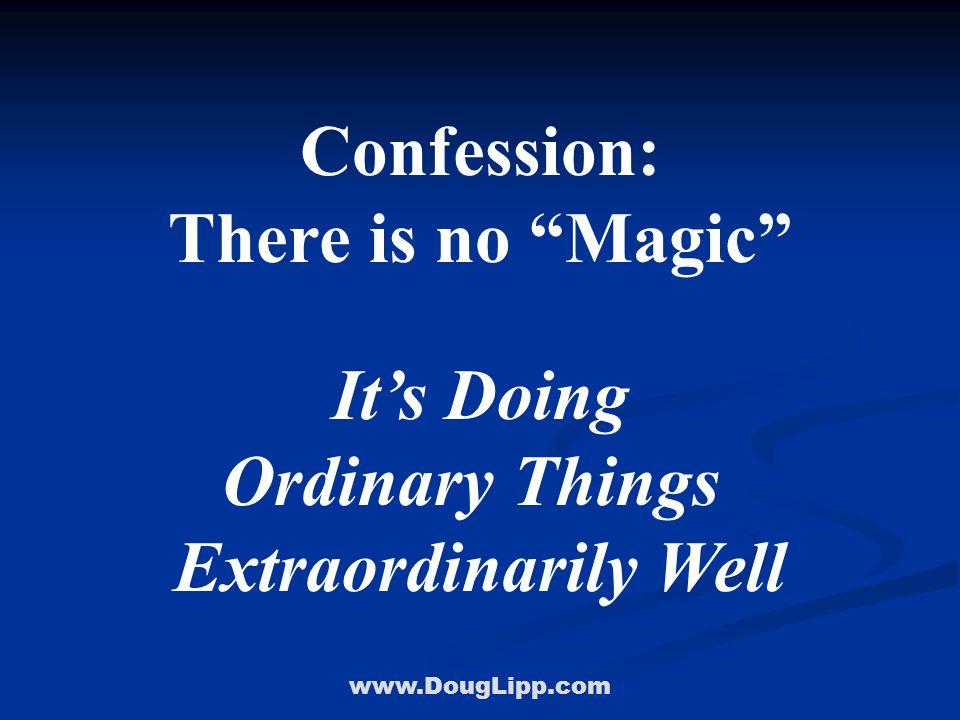 www.DougLipp.com Opportunity #4 Creativity Disney Style Walk In Their Shoes